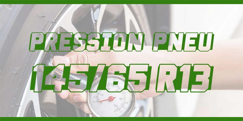 Pression Pneu 145/65 R13