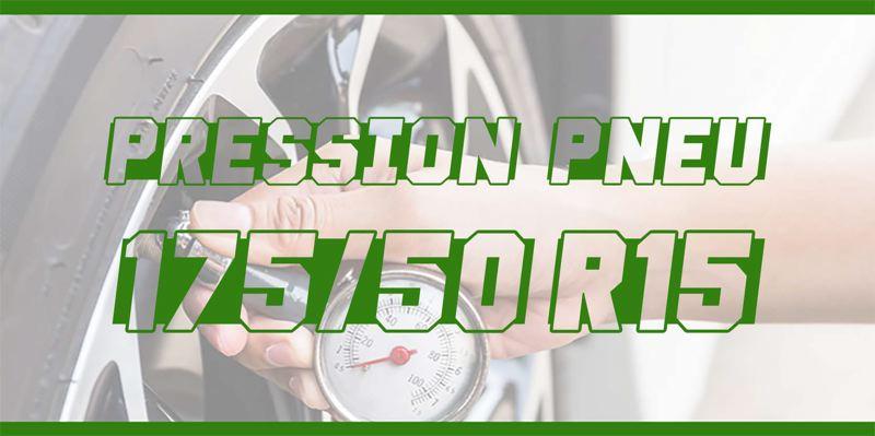 Pression Pneu 175/50 R15