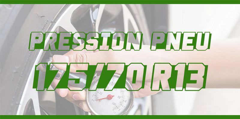 Pression Pneu 175/70 R13